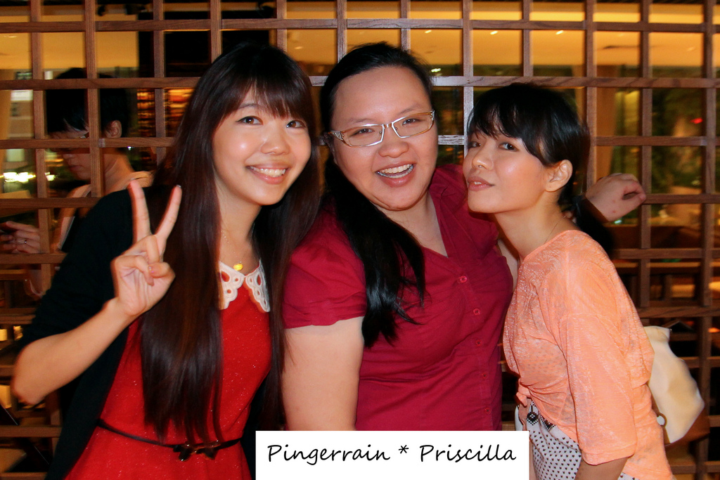 Christmas get-together with fellow OMY bloggers