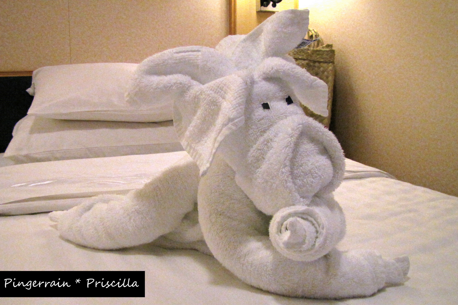 Towel Animals DIY!!!