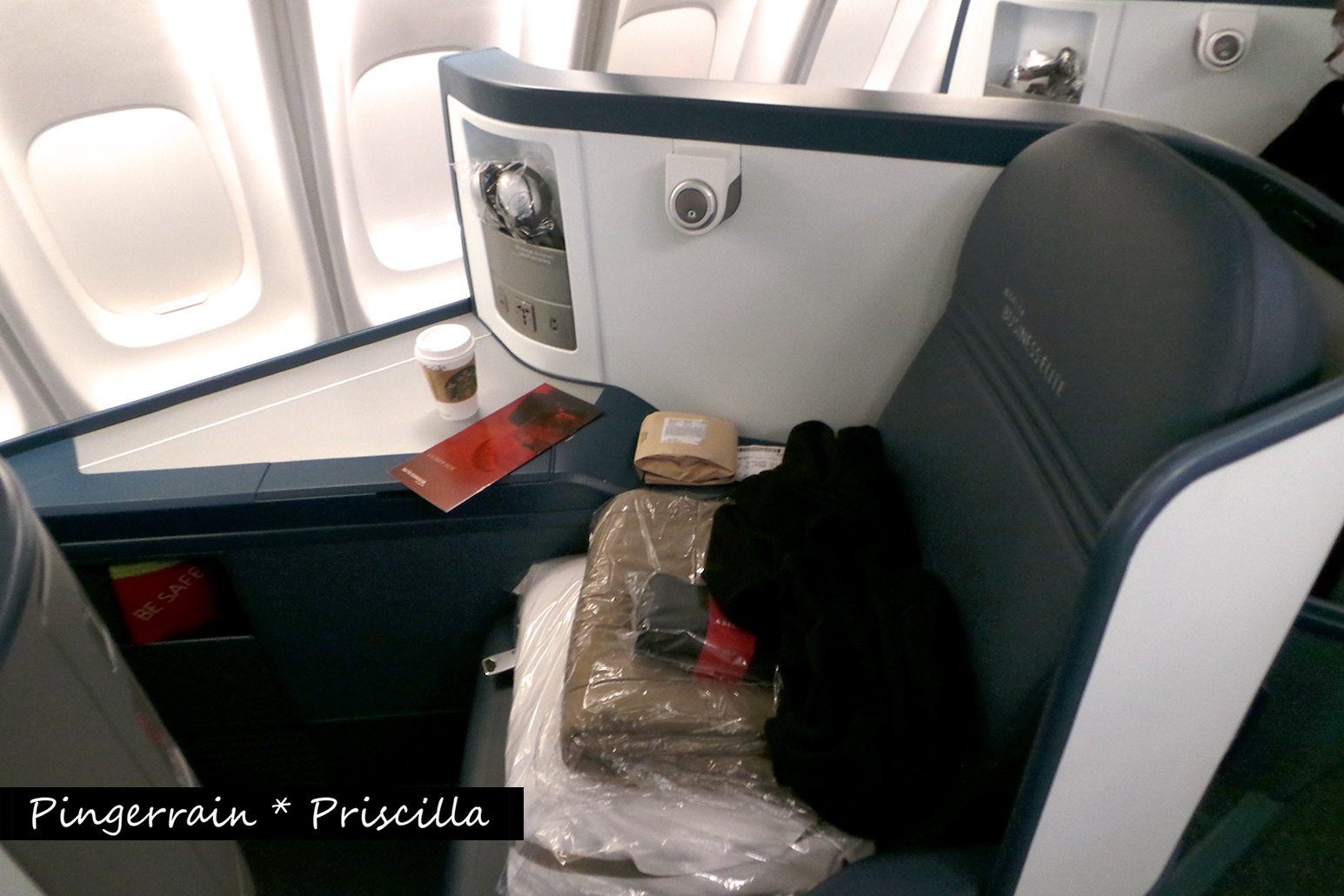 Delta Airlines Business Elite Class: A golden experience