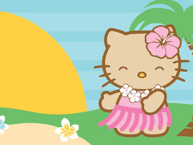 Too much Hello Kitty in Hawaii!!