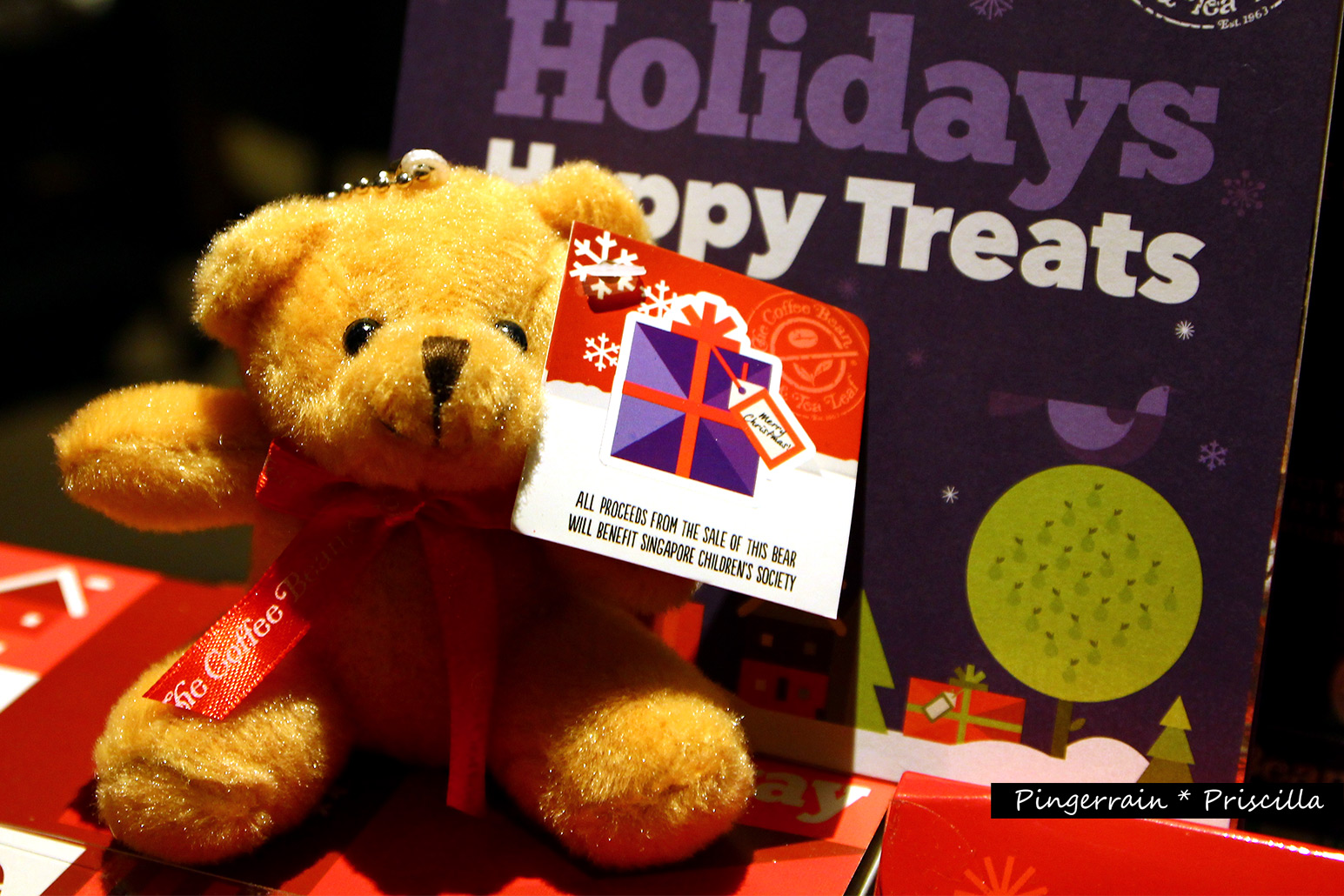 CBTL: A Teddy Bear in the Christmas Tree