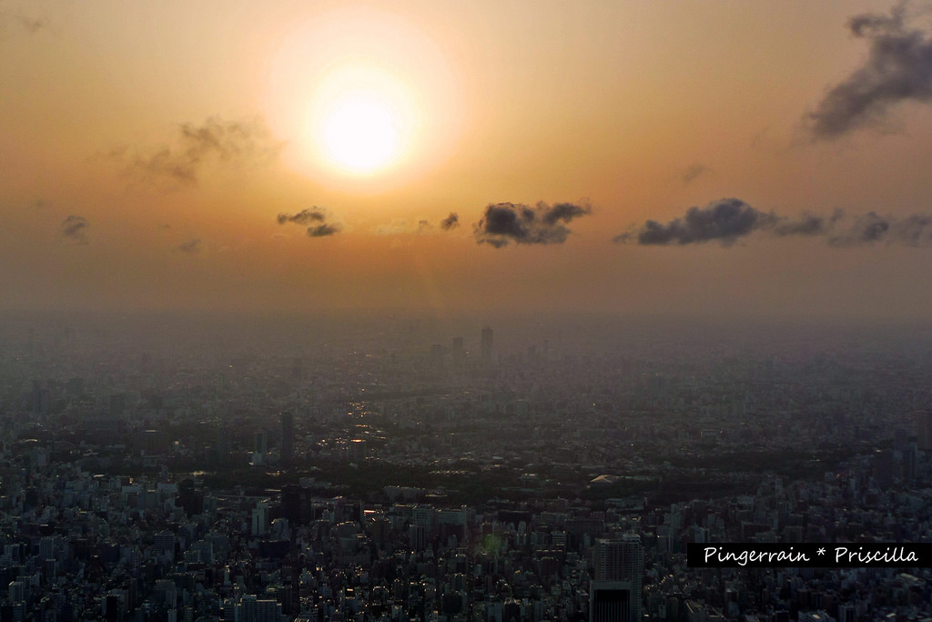 1 Tokyo Skytree ticket, 3 spectacular views
