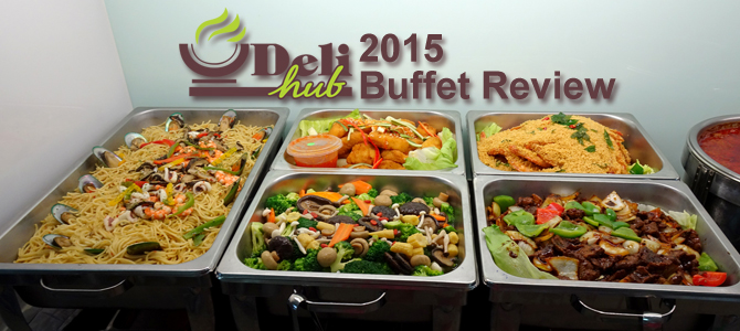2015 Delihub buffet catering review
