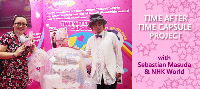 Time After Time Capsule Project with Sebastian Masuda and NHKWorld